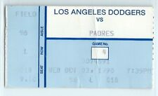 Fred Lynn's final game in the majors, Eric Show win; Padres at Dodgers 10/3/1990