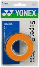 Yonex Ac102 Super Grap tennis badminton squash Overgrip (3pk) - Orange