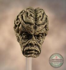 """ML112 Saesee Tiin Custom Sculpt Cast head use w//6/"""" Marvel Legend Star Wars Black"""