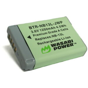 Wasabi Power Battery for Canon NB-13L