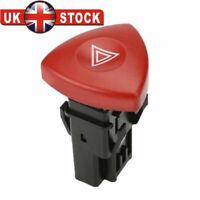 Hazard Warning Light Switch For Opel Vauxhall Trafic Renault Nissan Primastar UK