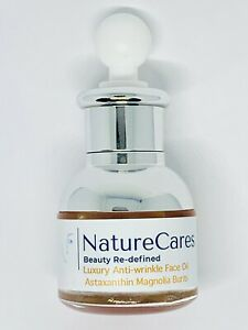 NatureCares Astaxanthin Luxury Magnolia +++ Anti-ageing Face Oil: Youth Elixir