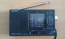 Sony Stereo ICF-SW -10World Receiver  FM / LW / MW / Short Wave