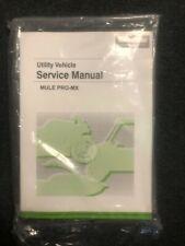 "Kawasaki Mule Pro-Mxâ""?Service Manual - Fits 2019 - 2021 - Genuine Kawasaki - New (Fits: Kawasaki)"