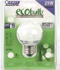 ECOBulb 5W / 25W 120V Mini-Globe Soft White CFL E26 Medium Base BPESL5G