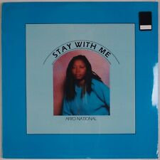 """AFRO NATIONAL: Stay With Me 12"""" SEALED Soca Obscure '87 Vinyl"""