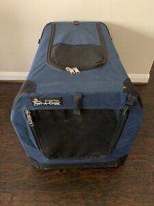 Petnation E-series Port-A-Crate Blue & Black