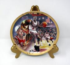 "Michael Jordan 1995 UD Bradford Exchange ""1991 Championship"" Collectors Plate"