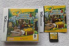 CRAYOLA TREASURE ADVENTURES NINTENDO DS V.G.C. FAST POST ( family/kids game )