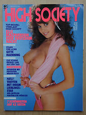 High Society - D 7/1988, Gitte, Elle Macpherson, Florence Lacey, Karen Brennan