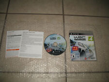 COMPLETE WRC 4: FIA World Rally Championship (Sony PlayStation 3, 2014) CIB PS3