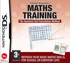 Professor Kageyama's Maths Training (Nintendo DS, 2008) - European Version
