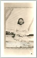 TAHENANIKAH COMANCHE INDIAN CHIEF SIGNED TREATY ANTIQUE REAL PHOTO POSTCARD RPPC