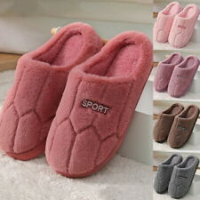 Unisex Shoes Winter Warm Sandal House Indoor Home Cotton Slippers Anti-slip Soft