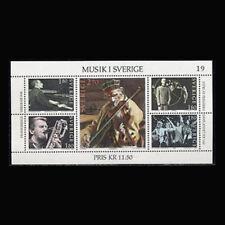Sweden, Sc #1473, MNH, 1983, S/S, Music, Entertainment, CL057F