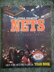 1974/75 World Champion Nets Official Yearbook