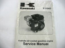 Kawasaki FJ100D Small Engine Factory Service Manual 99924-2062-01