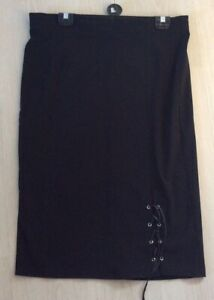 New Without Tags Black pencil skirt size 16