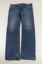 Diesel Jeans Safado Straight-Cut W34 L32 34/32 blau uni -771