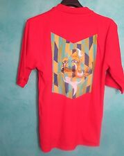 COOGI Red Polo Shirt NEW 4XL RUNS SMALL Embroidered Screened Tribal Man $79.00