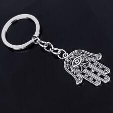 Charm Fatima Hand Pendant Chain Keychain Keyring Keyfob Jewelry Gift Newest