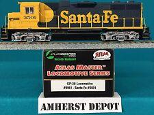 8961 Atlas HO GP 38 SF DCC Locomotive  NIB