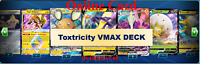 Toxtricity VMAX Deck Sword & Shield Rebel Clash Pokemon TCG Card Online PTCGO