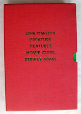 THE CREATURE FEATURES MOVIE GUIDE STRIKES AGAIN by John Stanley #342 Autographed