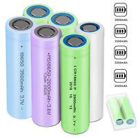 3.7V 18650 2600mAh 3200mAh Li-ion Battery Rechargeable For Flashlight Torch LED