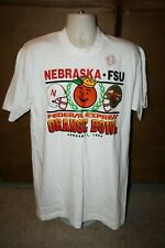 New Nebraska Cornhuskers 1994 NCAA Orange Bowl T Shirt Adult L