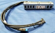 #IOP001 - Dell Optiplex 9010 Front I/O Panel USB Audio Assembly 0DH7MN DH7MN