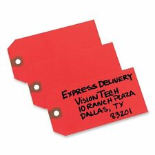 """Avery Colored Shipping Tag - 4.75"""" X 2.37"""" - 1000/box - Red (Ave12345)"""