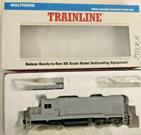 HO scale Walthers Trainline GP15 Undecorated  Diesel Locomotive