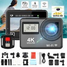 4K Action Camera 16MP WiFi Waterproof Sports DVR Helmet Video Recorder Gopro HD