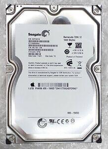 "1TB SEAGATE ST31000528AS BARRACUDA 7200 3.5"" SATA Hard Disk Drive Apple 655-1565"
