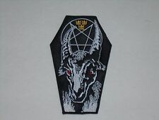 BATHORY BLACK METAL EMBROIDERED PATCH