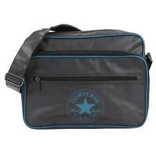 Converse XL Pocketed Reporter Retro Bag (Black/Lagoon Moonplum Kitten)