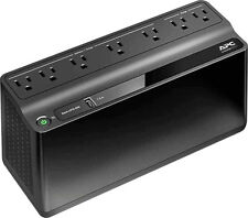 APC - Back-UPS 650VA 7-Outlet/1-USB Battery Back-Up and Surge Protector - Black