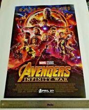 Avengers Infinity War (2018) 13.5 x 20 Original Theactrical Poster *NOT REPRINT*