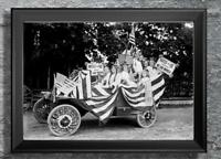 Women Suffragist ... Vote for Us When We are Women. Antique Photo Print 5x7