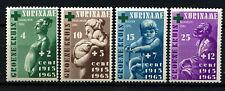 Suriname 1965 SG#544-7 The Green Cross MNH Set #D34393