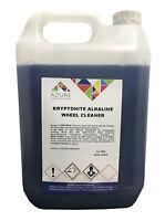 Kryptonite Alkaline Wheel Cleaner Shine & Removes Brake Dust Grime Road Film- 5L