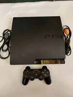 Sony PlayStation 3 Slim Launch Edition 160GB Console CECH-3001A - Tested