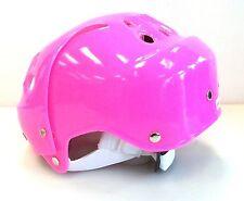 New DR ice skating helmet junior youth jr skate boarding toboggan pink girls