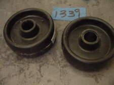 "5"" Dayton 2G323 Polyolefin wheel 2 pcs 5/8"""