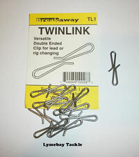 Breakaway TWINLINK - 10 Per Pack - Lead Clips, Lead Links, Rig Clips, Rig Links.