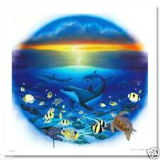 "WYLAND ""SEA OF LIFE"" S/N GICLEE ON CANVAS WITH Certificate of Authenticity"
