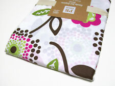 Pottery Barn Teen Cotton Dandy Dot Organic Floral Leaf Full Queen Duvet Cover