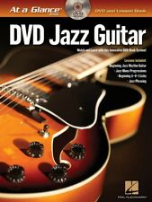 Jazz Guitar - At a Glance Book and DVD NEW 000696051