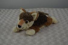 "Fiesta 11"" Lying Red Wolf Plush Stuffed Animal Toy #A15164"